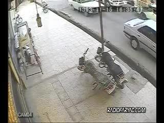 سرقت مسلحانه ازطلافروشی درایران به سبک فیلمهای هالیوودی