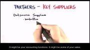 چگونه استارتاپ بسازیم ۱۰-۱۳- تامین کنندگان کلیدی