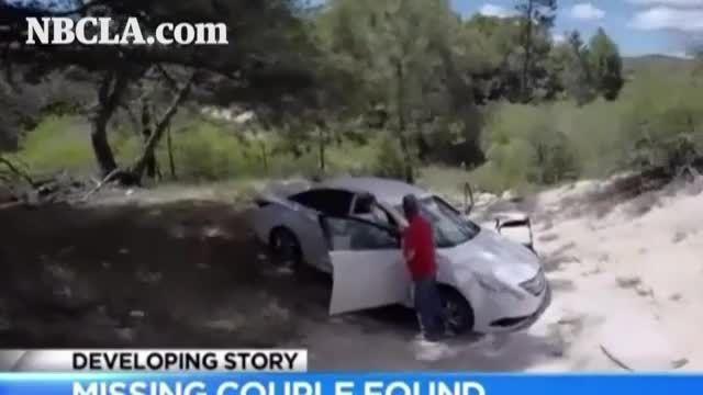 زوجی که در بیابان کالیفرنیا گمشده بودند بالاخره پیدا شد