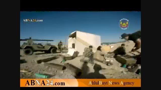 نبرد رزمندگان لشکر «علی اکبر(ع)» برای آزادسازی تکریت