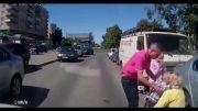 رانندگی و تصادف در خیابان یک طرفه