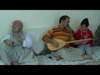 آهنگ کوردی.....سعدالله نصیری همراه دخترش