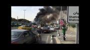 سقوط یک هواپیمای مسافربری در مهرآباد