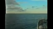 انفجار زیر دریایی در اعماق دریا