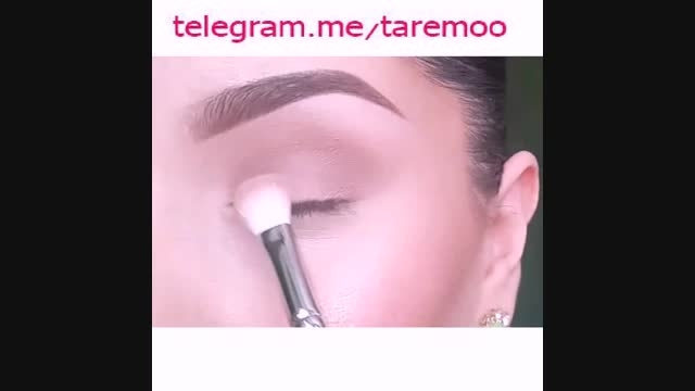 آرایش چشم دخترانه شیک در تارمو