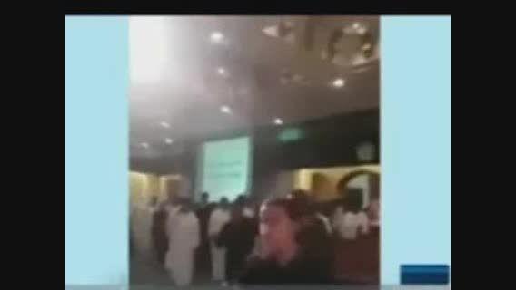لحظه تیراندازی به عزاداران حسینی در عربستان