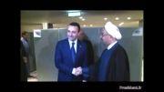 دیدار روحانی با نخست وزیر گرجستان