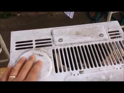 چگونگی تمیز کردن کولر گازی پنجره ای