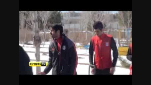 اعتراض بازیکنان تراکتورسازی به مسئولان باشگاه