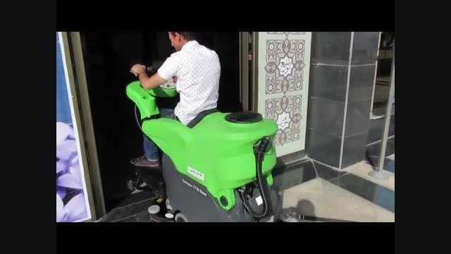اسکرابر با راننده مدرن- زمین شور مدرن صنعتی 7- 88535444