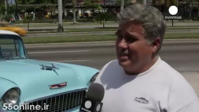 آرزوی مردم کوبا برای رهایی از اتومبیل های آمریکایی