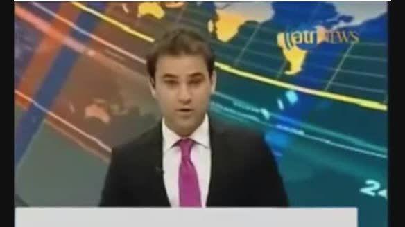 فرار مجری شبکه خبری «آریانا» در پی وقوع زلزله