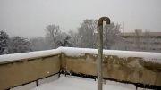 برف امروز تهران