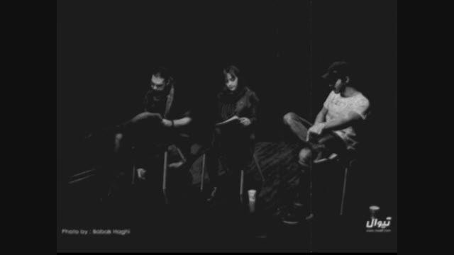 مصاحبه ساعد سهیلی در حاشیه اجراخوانی نمایشنامه مرده شور