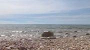 صدای  دریا در ساحل  بندر سیراف كهنترین بندر خاور میانه