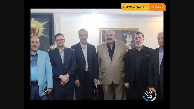 نشست نائب رئیس فدراسیون فوتبال عراق با کفاشیان