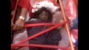 نجات کودک 3 ساله از تصادف مرگبار