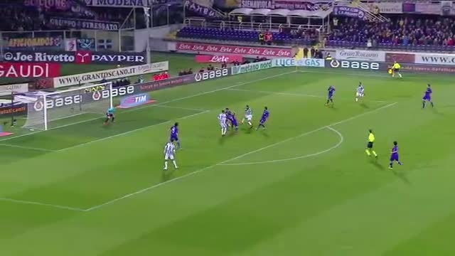 فیورنتینا 0 : 3 یوونتوس - مرحله نیمه نهایی کوپا ایتالیا