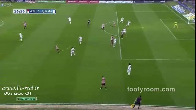 خلاصه بازی : اتلتیک بیلبائو 1-0 رئال مادرید