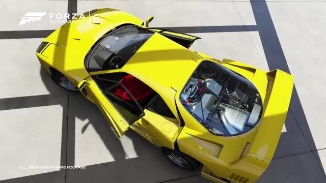 لانچ تریلر بازی Forza Motorsport 6 منتشر شد