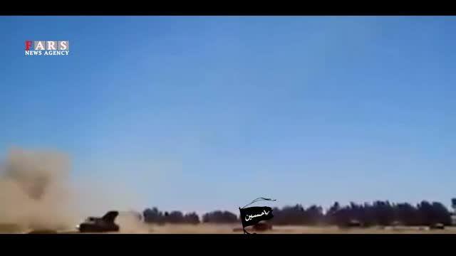 موشک باران شدید علیه مواضع گروه تروریستی داعش (ویژه)