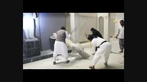 جنایتی تازه از داعش به نام بت شکنی