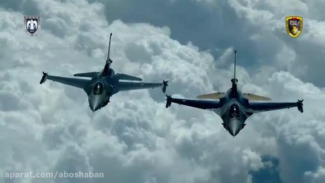 تیم نمایش هوایی Solo Turk نیروی هوایی ترکیه 2015