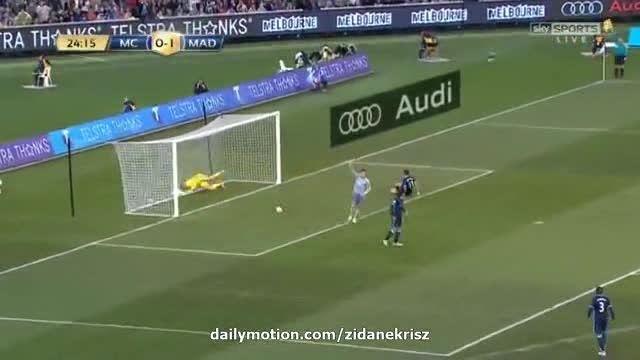"منچسترسیتی 0-2 رئال مادرید ""گل رونالدو"""