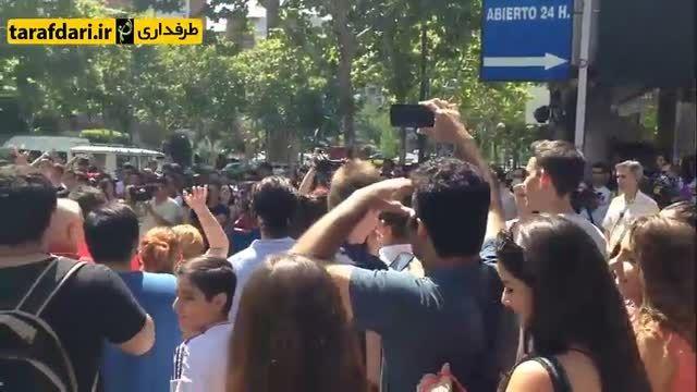 هواداران رئال مادرید خواهان استعفای فلورنتینو پرز شدند