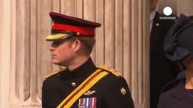 مراسم پایان حضور سیزده ساله ارتش بریتانیا در افغانستان