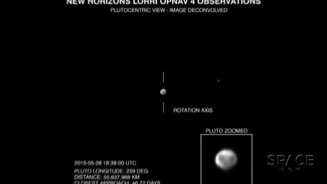 تصاویر کاوشگر افق های جدید از پلوتو و قمرش شارون