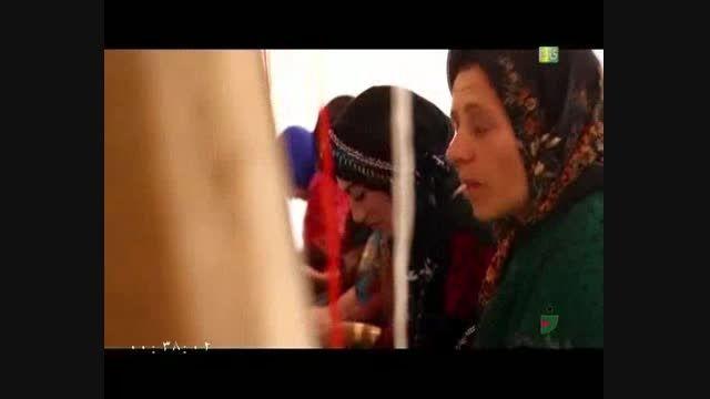 خندوانه - قالی بافی زنان تکابی