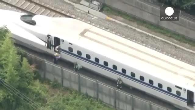 توقف اضطراری یک قطار در ژاپن در پی خودکشی یک از مسافر