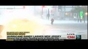 گزارش زنده طوفان ساندی