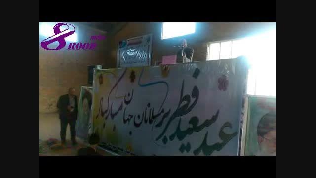 نماز عید فطر در هشترود برگزار شد+ تصاویر