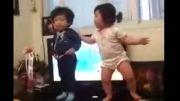 رقص خواهر و برادر o_^