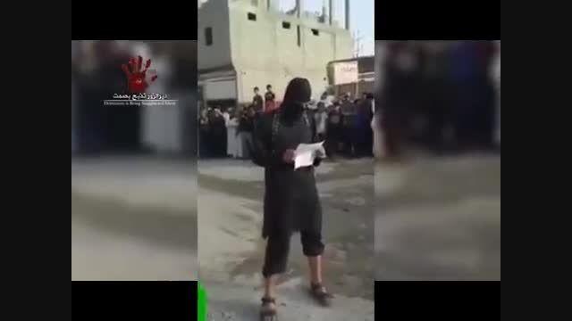 شلاق زدن دو زن-سوریه-عراق-داعش
