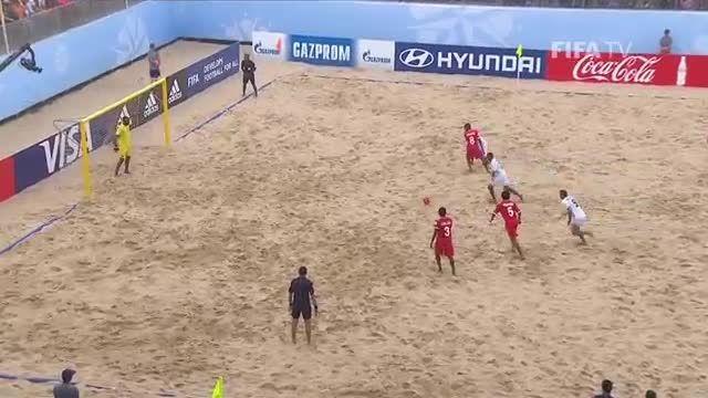عمان VS کاستاریکا (جام جهانی فوتبال ساحلی 2015 )