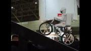 ربات انسان نما کوچک ( ربات دوچرخه سوار )