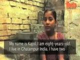 مار کبری همبازی دختربچه هندی