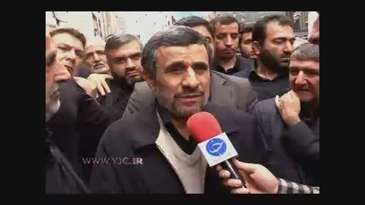 دکتر احمدی نژاد: آینده سوریه روشن است