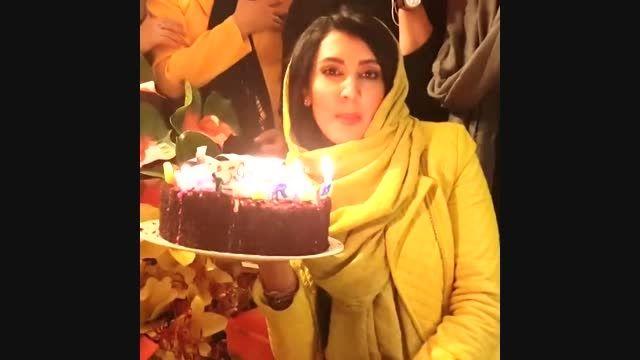جشن تولد 33 سالگی لیلا بلوکات را مشاهده کنید