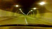 تونل امام زاده هاشم به سوی شمال