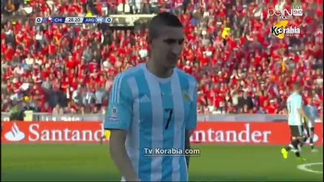 مصدومیت دیماریا (فینال کوپا آمریکا 2015)شیلیVSآرژانتین