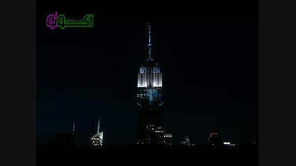 گونه های در معرض انقراض در نورپردازی ساختمانی در NY
