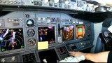 تصاویری زیبا از داخل کاکپیت هواپیمای 800-737