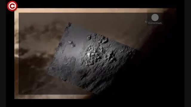 اولین تصاویر نمای نزدیک پلوتون از وجود آب در این سیاره