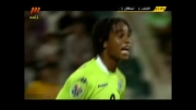 گل دوم استقلال به الشباب توسط جواد نکونام