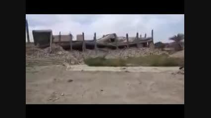 تخریب کامل مقبره صدام در حملات داعش