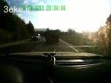 تصادف با خودرو جلو